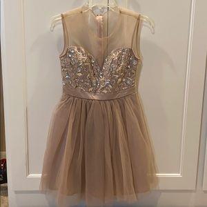 Homecoming dress.